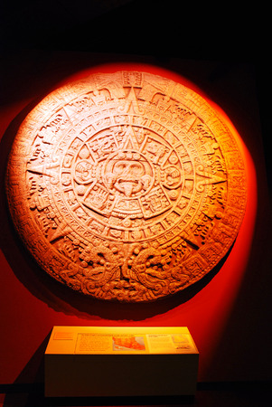 Ancient Aztec Artwork on display at the Field Museum in Chicago