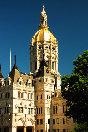 Gold Dome, Connecticut State Capitiol