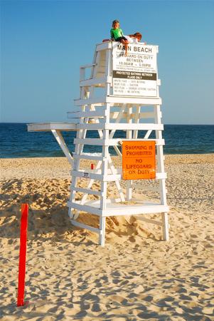 Fun at Main Beach, East Hampton