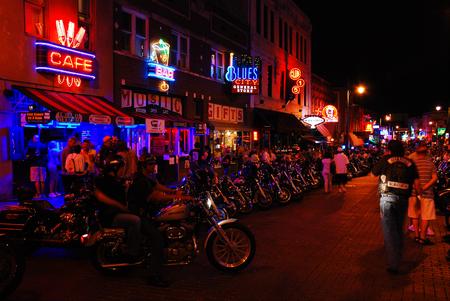 Biker Night, Beale Street