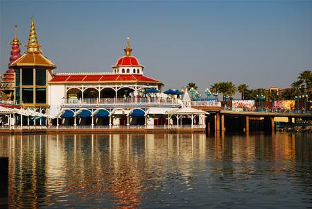 Arials Grotto, Disneys California Adventure