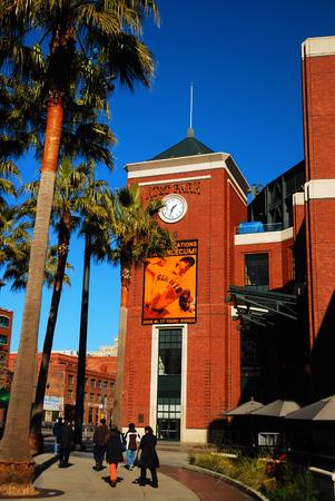 AT&T 野球場、サンフランシスコ ・ ジャイアンツのホーム 報道画像