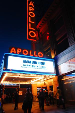 old photo: Outside the Apollo Editorial