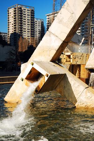 The Contorversial Vallencourt Fountain in San Francisco Editorial