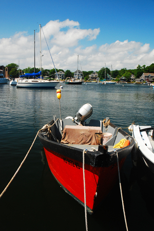 Red Boat, Woods Hole Editorial