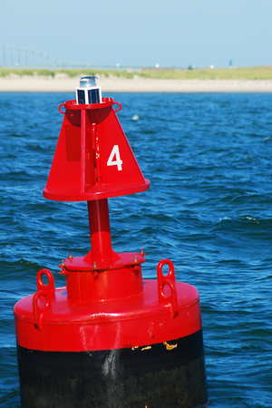 navigational light: Bouy 4