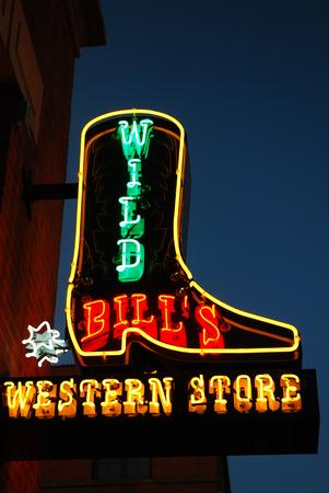 Dallas, Wild Bill's Western Store