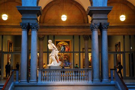 Main Lobby, Chicago Art Institute Editorial