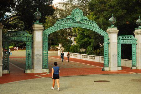 Sather Gate, Berkeley