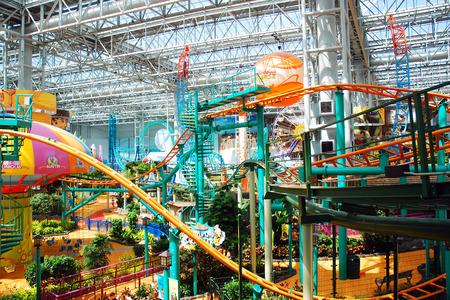 Indoor Amusement Park at the Mall of America, Bloomington, Minnesota
