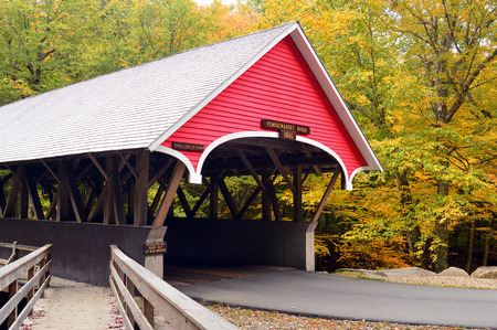 Flume Gorge Covered Bridge