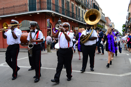 Second Line March Stock Photo - 117651137