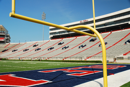 Ol Miss Vaught Hemingway Football Stadium