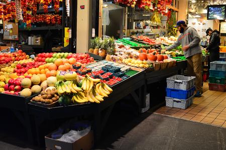 Fruit market, Pike Place, Seattle