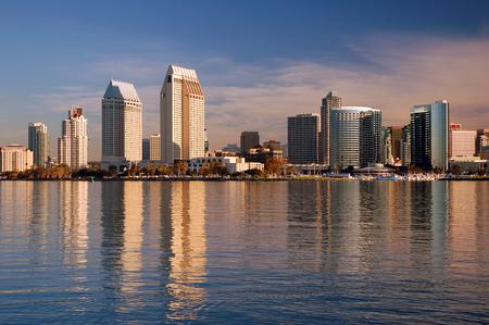 San Diego from Coronado Island 写真素材 - 120811867