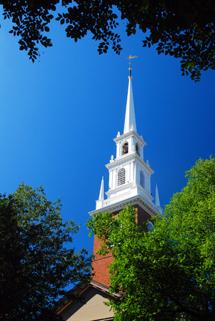 Memorial Chapel at Harvard University Editorial
