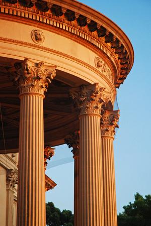 Columns and Rotuda of Vanderbilt Mansion in Hyde Park 新聞圖片