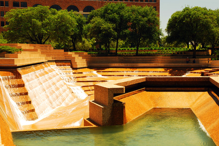 The Watergarden in Downtown Ft Worth Texas