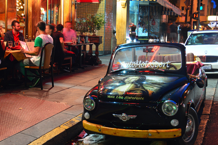 Fiat at Mona Lisa Editorial