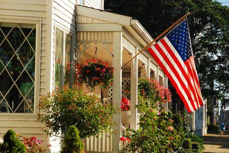 Americana on a small house