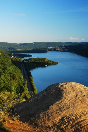 View on the Hudson Highlands