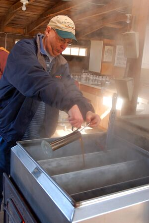 The Process of Making Maple Syrup Involves Boiling and Evaporating the Water