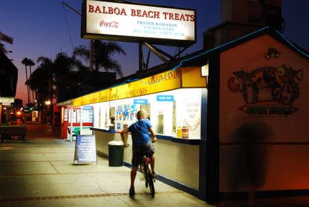 Balboa Beach Treats, Newport Beach Редакционное