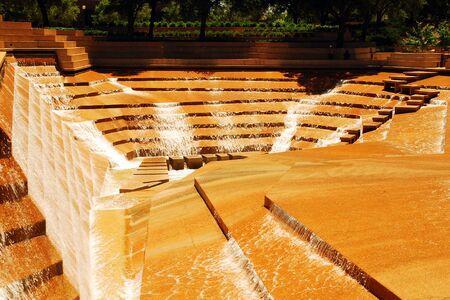 Water Garden, Ft Worth Reklamní fotografie