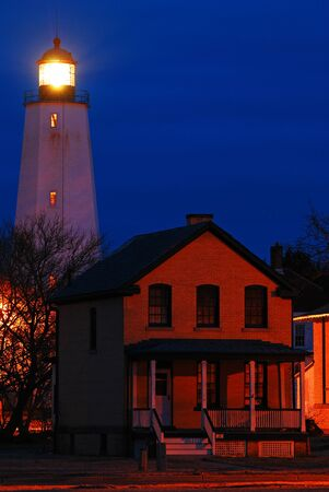 Sandy Hook Lighthouse, the Oldest Lighthouse Still Standing in North America
