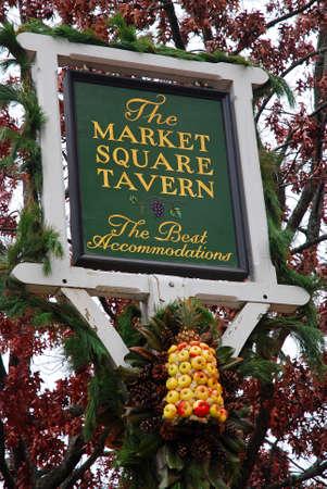 The Market Square Tavern, Williamsburg, Virginia