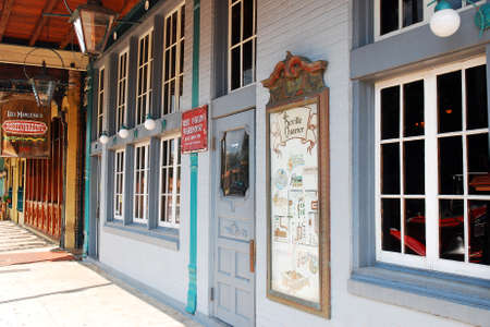 Historic Seville Quarter, Pensacola, Florida Редакционное