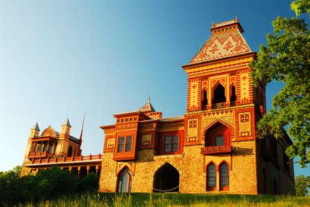 Olana, the historic home of artist Fredrick Edwin Church, was designed in the Moorish style
