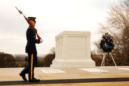 Guard at Tomb of the UInknowns