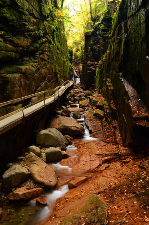 The Flume Gorge, Franconia State Park, New Hampshire
