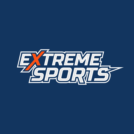 extreme sports: Extreme sports logo. Logo for all kinds of extreme sports