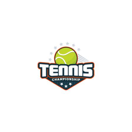 Tennis badge logo