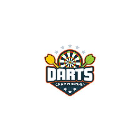 Darts badge logo