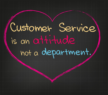 customer service: Customer Service Illustration