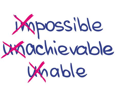 Onmogelijk Stock Illustratie