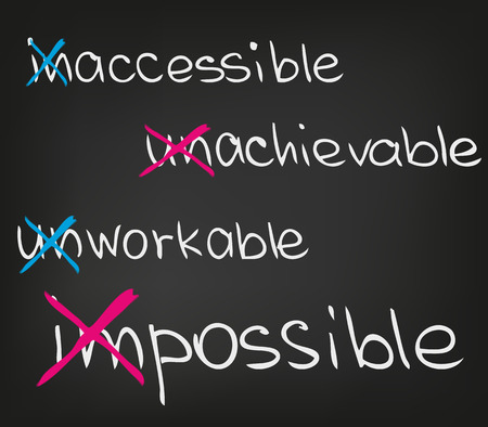 goal setting: Impossible