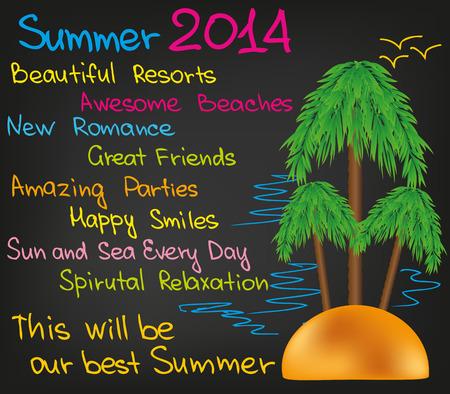 Summer Time Ilustração