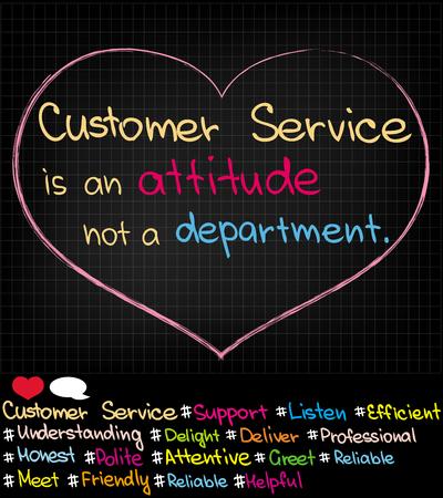 Fotos y enfoque de servicio al cliente en las redes sociales Ilustración de vector