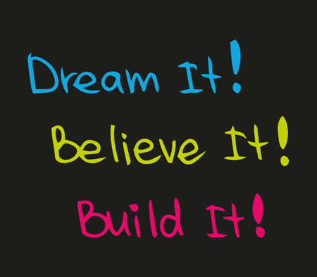 Dream, Believe and Build your future success