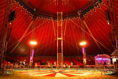 circus: Circus Interior Stock Photo