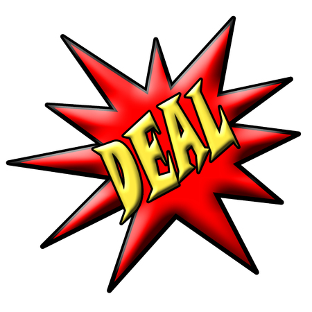 at sign: Deal Sign
