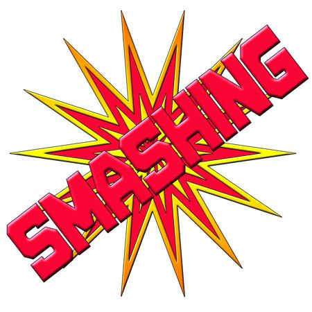 smashing: Smashing Text Logo
