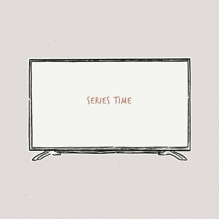 Television, vector illustration of a sketch style. Imagens - 134600251