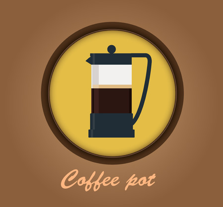 commercial kitchen: Coffee pot icon