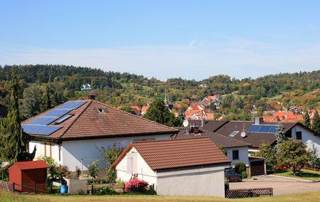 Solar Panel Banco de Imagens