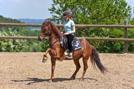 Riding Girl photo